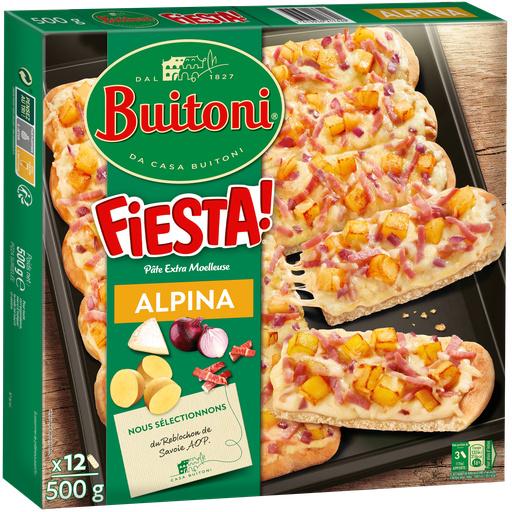 BUITONI FIESTA pizza surgelée Alpina 500g